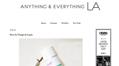 Anything & Everything LA Press Listing