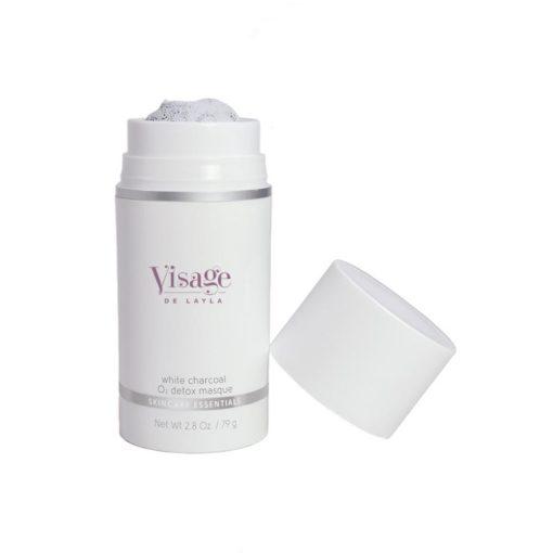 White Charcol O2 Mask