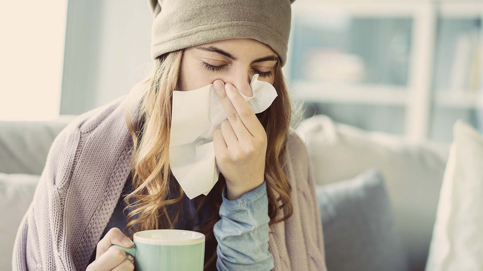 Feeling Sick? How to Care for Your Skin with a Cold